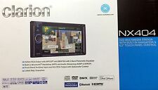 "NEW CLARION NX404 2-DIN Navigation DVD/CD/AM/FM Receiver w/ 6.2"" Touchscreen"