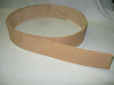 "Vegetable Tanned Leather Belt Blank 1 1/2"" Lot of 4"