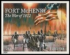 US 4921a Fort McHenry imperf NDC single MNH 2014