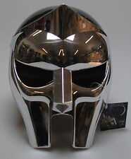 MF Doom Gladiator Mask Helmet Reflective Plastic Chrome Prop