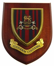 MILITARY PROVOST GUARD SERVICE LICENSED HAND MADE WALL / MESS PLAQUE