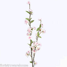 Artificial Spring Blossom Branch 90cm/35 Inch Pale Pink Flower Decoration