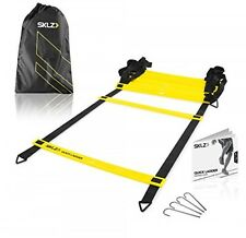 SKLZ Quick Flat Rung Agility Ladder with Free SKLZ Carry Bag, New, Free Shipping