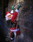 Huge 120cm Santa Climbing Rope Ladder Outdoor Christmas Garden Decoration SOL120