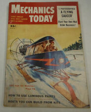 Mechanics Today Magazine How To Use Luminous Paints March 1954 072214R1