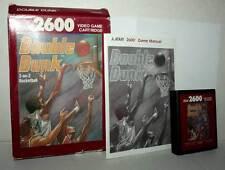 DOUBLE DUNK GIOCO USATO BUONO ATARI VCS 2600 EDIZIONE AMERICANA FR1 42852