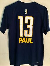 Adidas T-Shirts NBA Tee Pacers Paul George Navy sz S