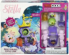 NEW Angry Birds Stella Piggy Palace Telepods playset game set Gale Princess