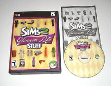 The Sims 2 Glamour Life Stuff PC Game 2006 Complete With Key Expansion