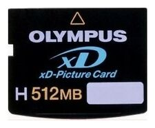 "XD Picture Card * 512 MB * Tipo ""H"" * Olympus"