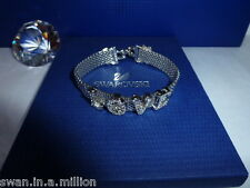 **RARE** GENUINE Swan Signed SWAROVSKI LOVE Bracelet  - SUPERB!