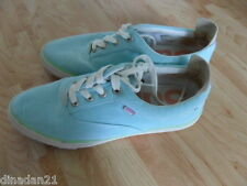 Women's Superdry trainers, size 6, light blue, lace up