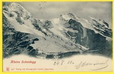 cpa Dos 1900 SUISSE SCHWEIZ SWITZERLAND Kleine Scheidegg Photo GABLER Interlaken