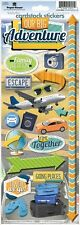 PAPER HOUSE OUR BIG ADVENTURE TRAVEL VACATION CARDSTOCK SCRAPBOOK STICKERS