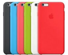 "100% GENUINE Apple Silicone Case For iPhone 6 / 6S 4.7"" 6 COLOURS FREE SHIPPING"