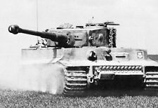 "German SS Tiger IV Tank in action 5""x 7"" World War II Photo 339"