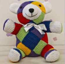 Twilleys Knitting Kit Harley Bear With Yarn Needles Eyes Ribbon & Instructions