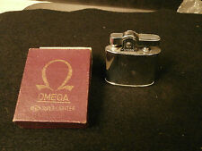 VTG OMEGA SUPER LIGHTER MACHINE TOOLED CIGARETTE UNUSED LIGHTER MADE BY Y.B.C.