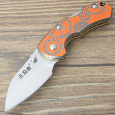 Sanrenmu 4097BUX-LJKR Quality Steel Mini Pocket Folding Knife Back Lock