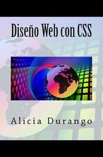 Diseño Web con CSS by Alicia Durango (2014, Paperback)