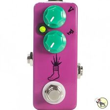 JHS Pedals Mini Foot Fuzz Overdrive MAssive Headroom Guitar Effects Pedal Purple