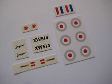 Dinky 731 sepecat  Water Slide & Stickers Decals