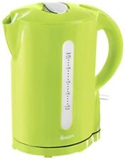 NEW Swan SK18120LIMN 1.7L Electric Jug Kettle, Cordless, 2200W - LIME GREEN