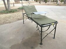 Military Army Field Bed Cot Fully Adjustable Camping Outdoor Survival Bunker USA