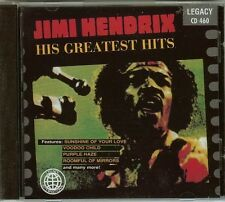 Jimi Hendrix - His Greatest Hits - CD - NEW - FAST FREE SHIPPING !!!
