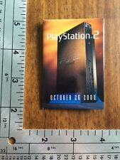 Playstation 2 Release Date PS2 Promotional Button Pin Back Promo October 2000