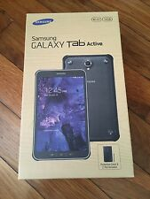 "NEW Samsung Galaxy Tab Active SM-T360 16GB 8"" Tablet Black w/ Cover & C Pen"