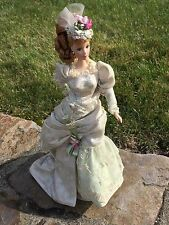 Mint Memories Porcelain Victorian Tea Barbie