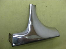 1960 Chevy Brookwood 2 Door Wagon Rt Front Window Lower Ext Corner Molding  6710