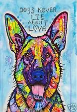 German Shepard Dog Wildlife Picture Poster Home Art Print Wall Decor New