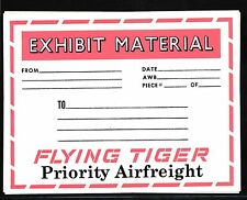 84900) correo aéreo maleta equipaje remolque Flying Tiger priority Airfreight
