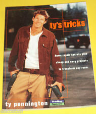 Ty's Tricks 2003 Ty Pennington Secrets & Easy Projects Photos Great Photos! See!
