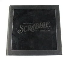 Scrabble Onyx Edition Crossword Game Official Score Sheet Booklet - 80 pages