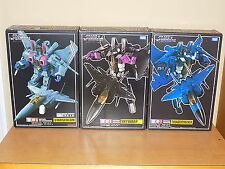 Transformers Takara Masterpiece MP-3 Starscream MP-6 Skywarp MP-7 Thundercracker