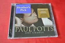 One Chance by Paul Potts (Sep-2007, Syco Music) Import Canada CD SEALED NEW