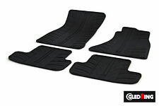 High Quality Black Rubber Tailored Car Mats - Audi A5/S5 Coupe 8T3 (07 on)