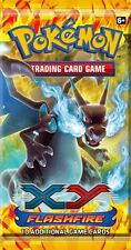 10x ENGLISH XY FLASHFIRE Pokemon pack Booster Packs SEALED IN HAND!!