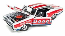 AUTOWORLD 1969 DODGE SUPER BEE DRAG RACE CAR JOHN PETRIE 426 HEMI 1:18 DIECAST