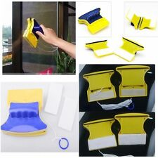Magnetic Window Cleaner Double Side Glass Wiper Cleaner Surface Useful Brush #LS