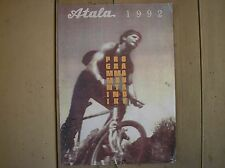 ATALA PROGRAMMA 1992 MTB CATALOGO PRODUZIONE MOUNTAIN BIKE UP TOP ACCESSORI