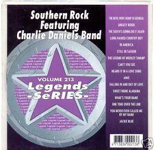 CHARLIE DANIELS Southern Rock Legends Karaoke CDG Lynyrd Skynyrd David Allan Coe
