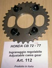Honda CB72/77 Cappellini #112 adjustable sprocket to index camshaft - NO ADVANCE
