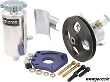 GoRacin.Com Complete Small Block Chevy Head Mount Power Steering Pump Kit,SBC