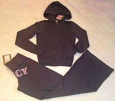 Juicy Couture tracksuit set with top and pants size Large
