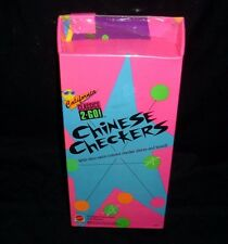 NEW SEALED VINTAGE 1992 MATTEL CALIFORNIA CLASSICS 2 GO CHECKERS CHESS TOY GAME