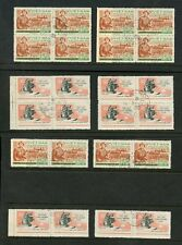 VIETNAM 1958 ARTS + CRAFTS + MILITARY 24 stamps SGNO83 + NO92 FINE USED